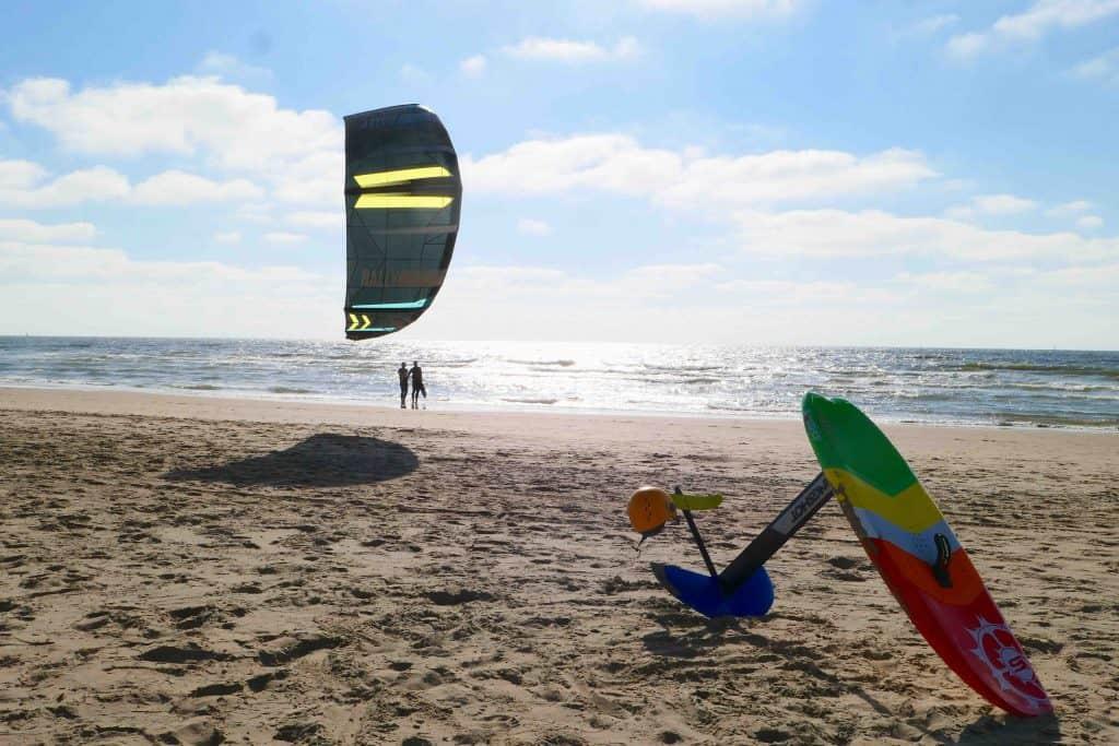 kitesurfen met hydro foil leren