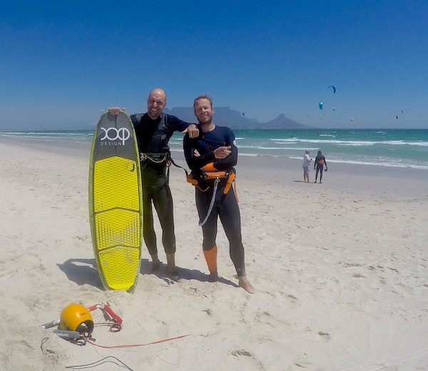 Leren kitesurfen team xxp Cape Town