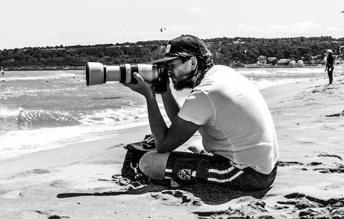 Kiteschool instructeur en fotograaf