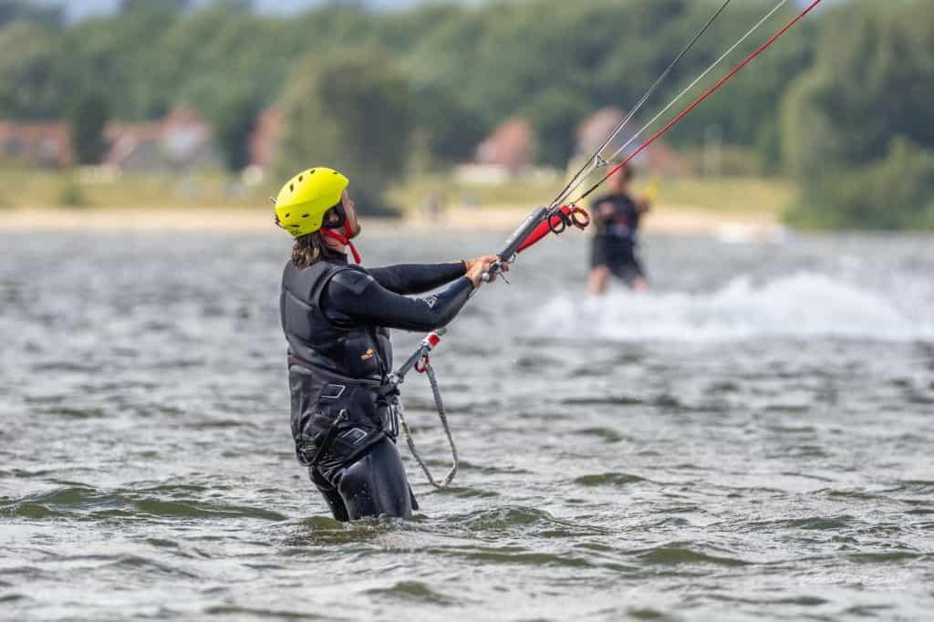 kitesurfles veluwemeer